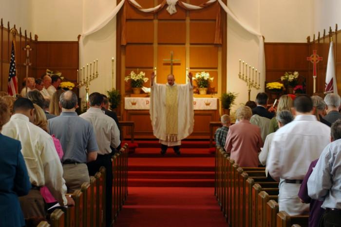 todays sermon in church